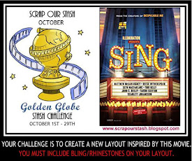 October 2018 Golden Globe Stash Challenge
