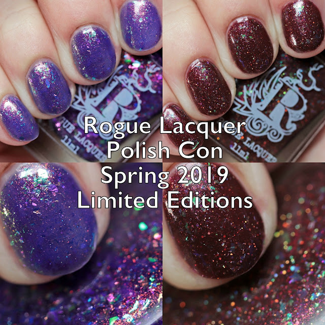 Rogue Lacquer Polish Con Spring 2019 Limited Editions