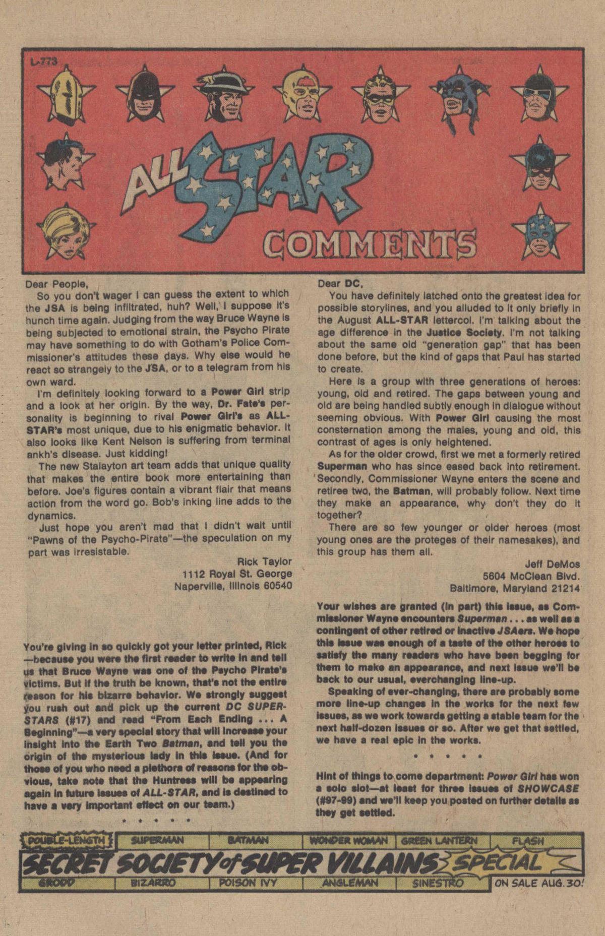Read online All-Star Comics comic -  Issue #69 - 31