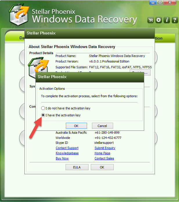 Stellar Phoenix Data Recovery v4 x64 serial number