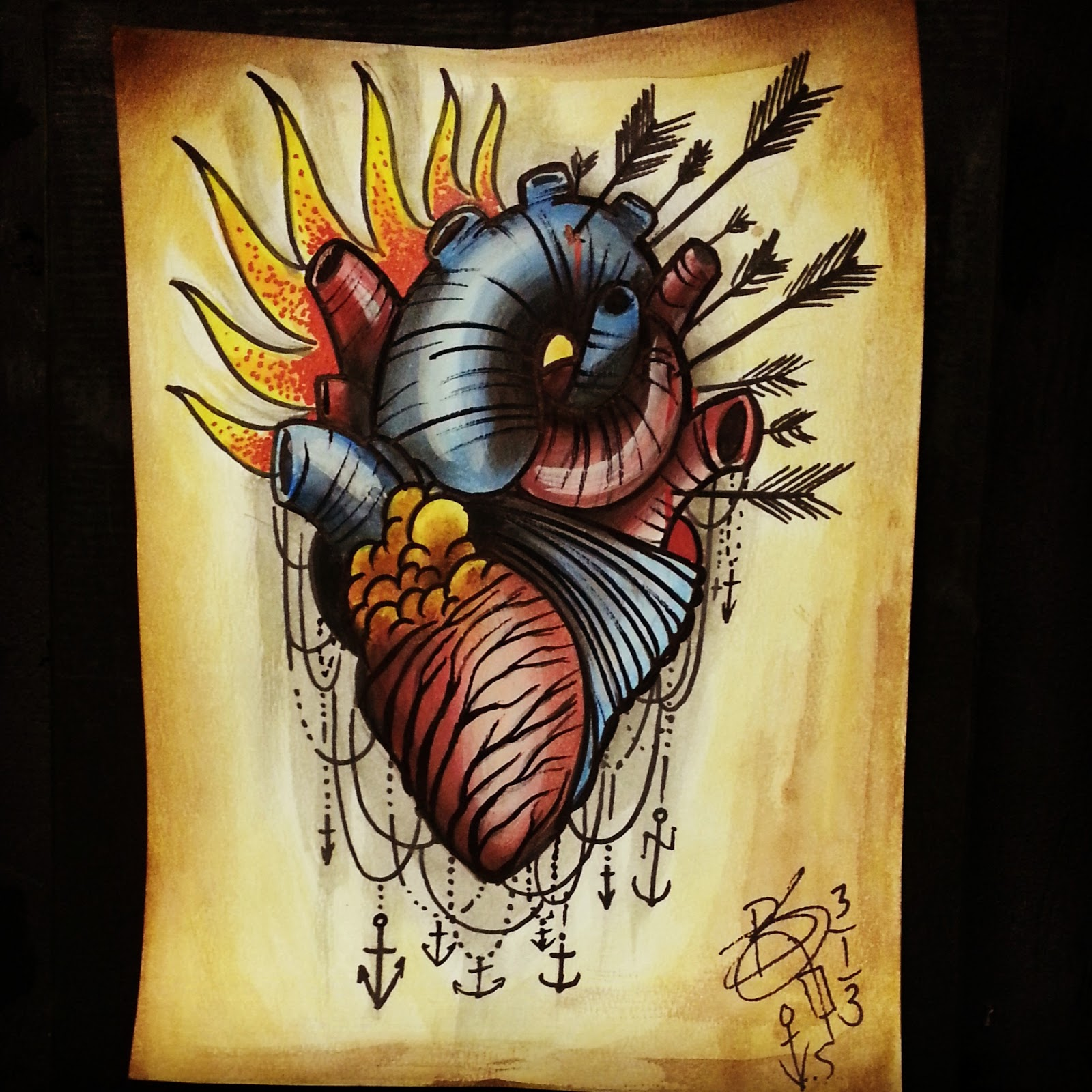 Traditional: Tattoos By Brent Senkbeil : Neo Traditional Tattoo Flash