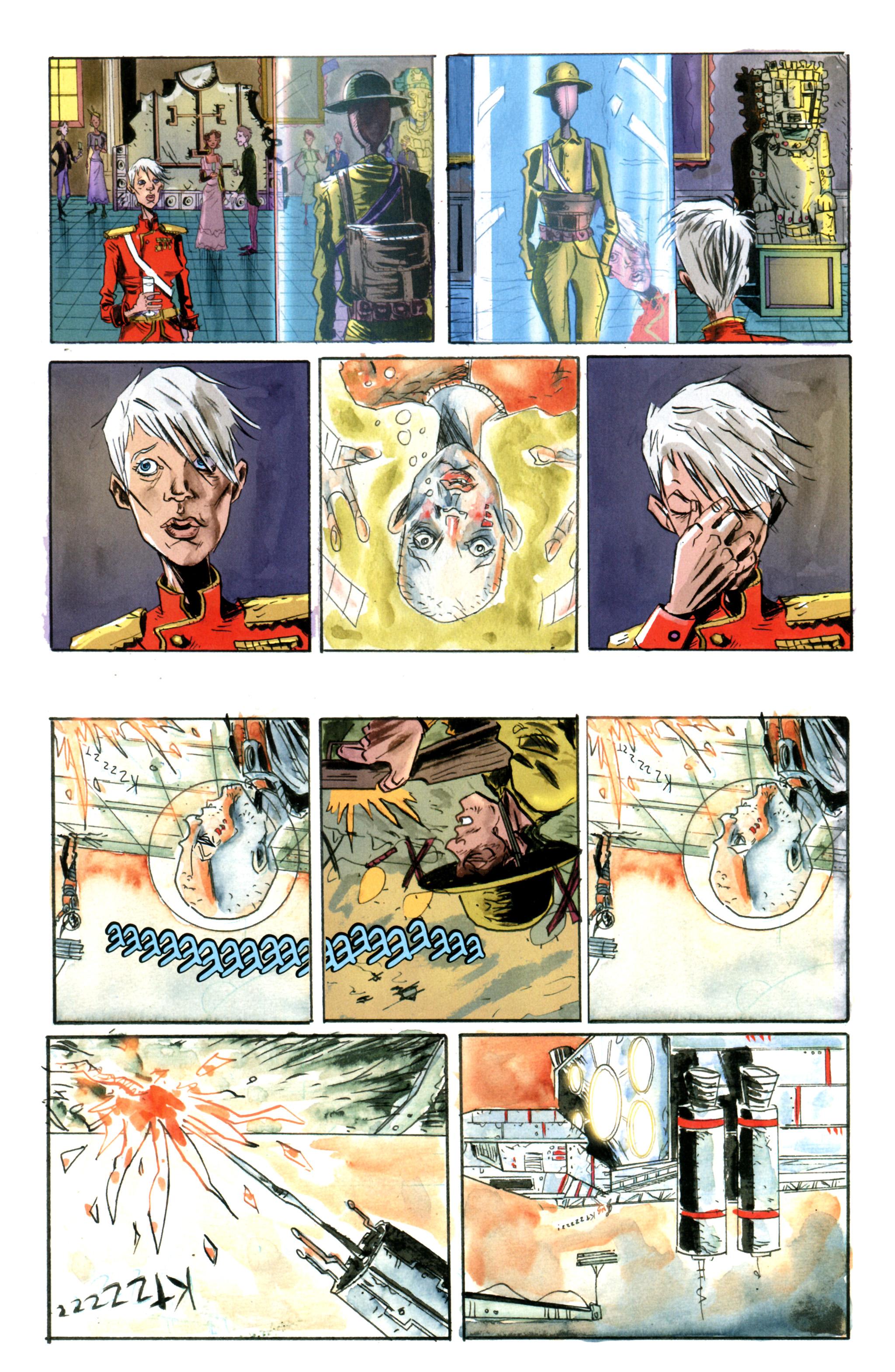 Read online Trillium comic -  Issue #5 - 11