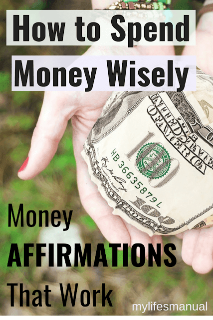How to spend wisely. Powerful money affirmations
