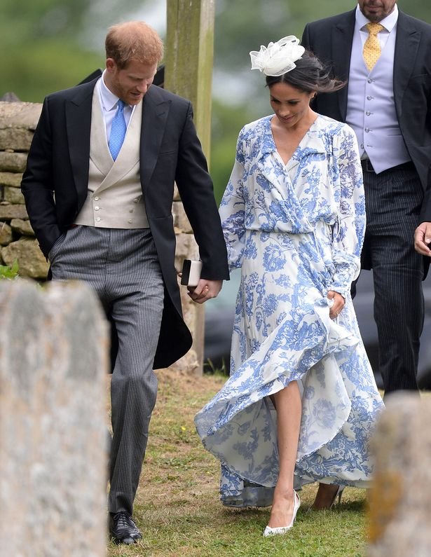 Meghan Markle Re-Rocks Wedding Shoes To Another Wedding