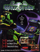 war Gods+arcade+game+3D+retro+portable+art+flyer