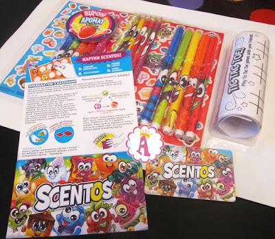 Ароматный набор для творчества Scentos