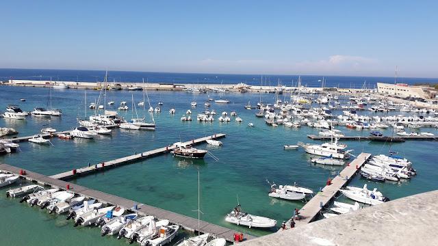 Il porto di Otranto, in Puglia