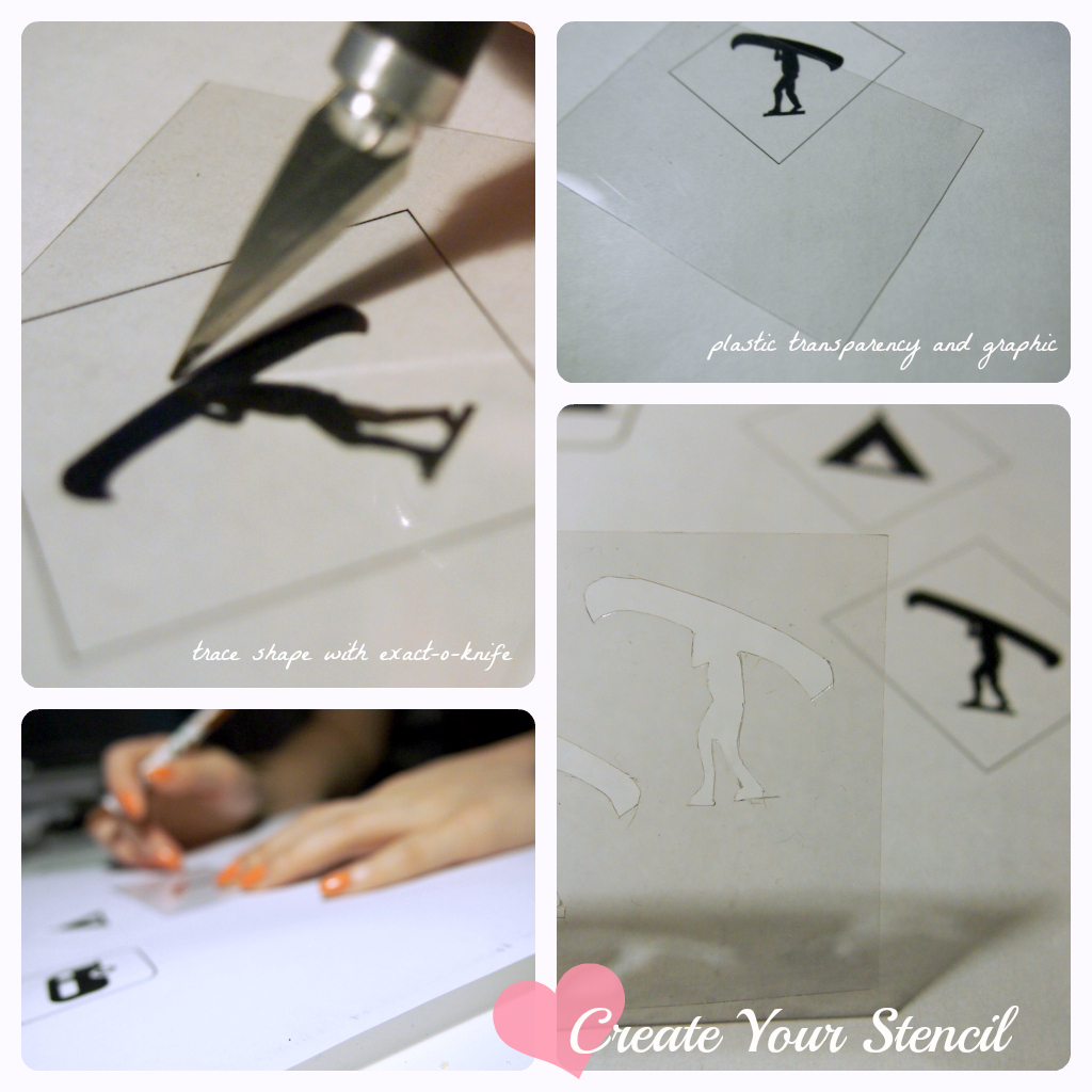 How to Stencil for Cupcakes { Tutorial }