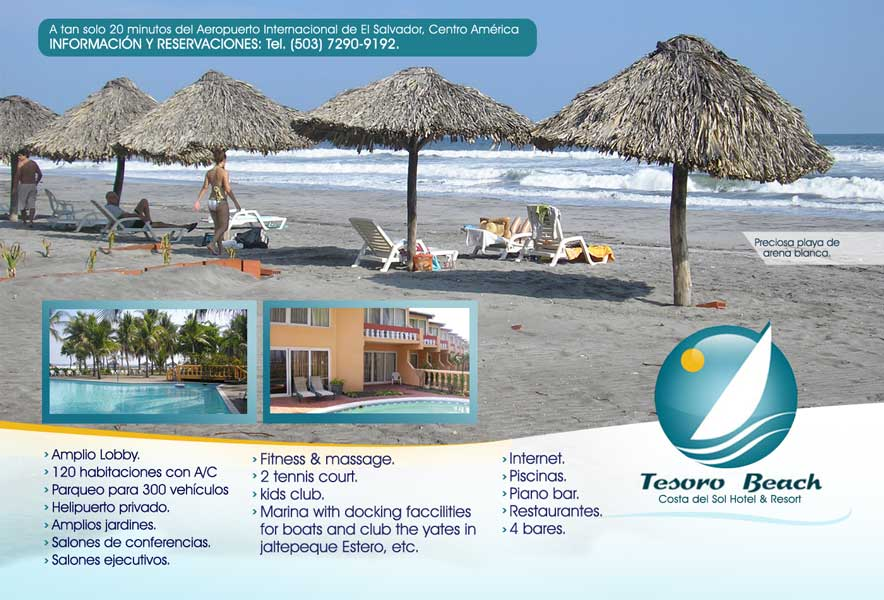 Hotel Tesoro Beach El Salvador The Best Beaches In World