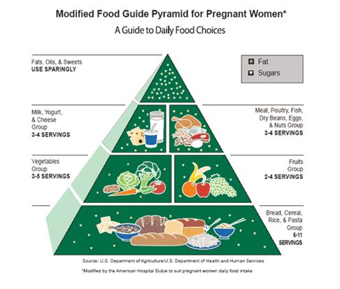 amalan ibu Kehamilan diet yang sihat semasa Kehamilan