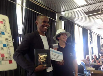 Wellington Jighere world scrabble champion