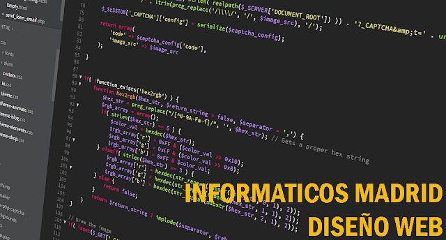diseño web informaticos madrid