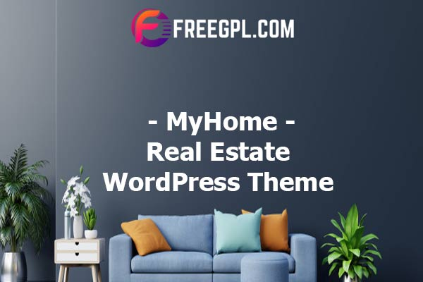 MyHome Real Estate WordPress Theme Nulled Download Free