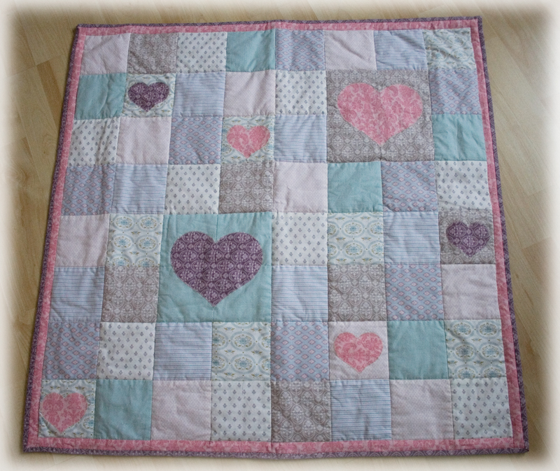 Minis Baby-Quilt - { Conibaers creative desk } Constanzes kreatives Blog