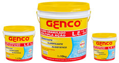 GENCO L.E. - Cloro Granulado Múltipla Ação