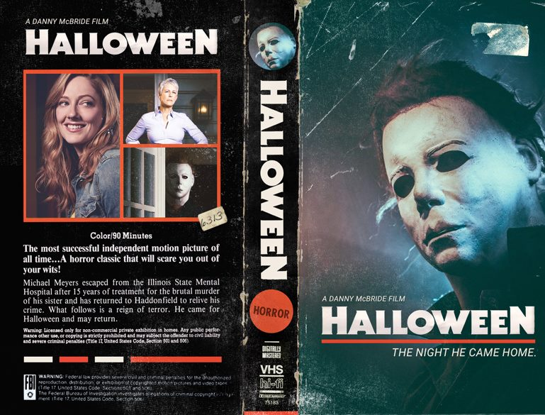 Halloween 2018 Movie Poster: The Horrors Of Halloween: HALLOWEEN (2018) VHS Cover By