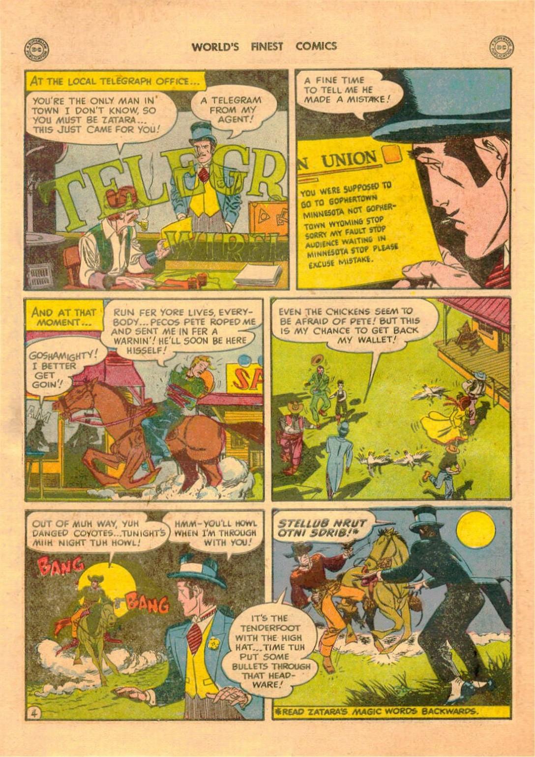 Read online World's Finest Comics comic -  Issue #42 - 56