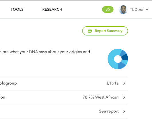 23andMe MtDNA Haplogroup report gets facelift