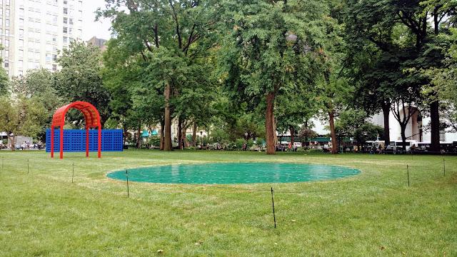 """""""Призматичний Парк"""" Йосія МакЕлхені у Медісон Сквер Парк, Нью-Йорк (Madison Square Park, Manhattan)"""