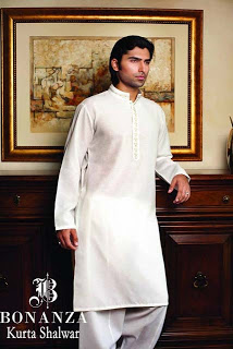 Best Bonanza Kurta Shalwar Eid Collection 2013 For Men