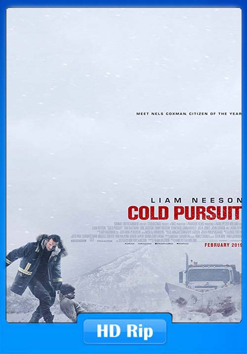 Cold Pursuit 2019 720p HC HDRip x264 | 480p 300MB | 100MB HEVC