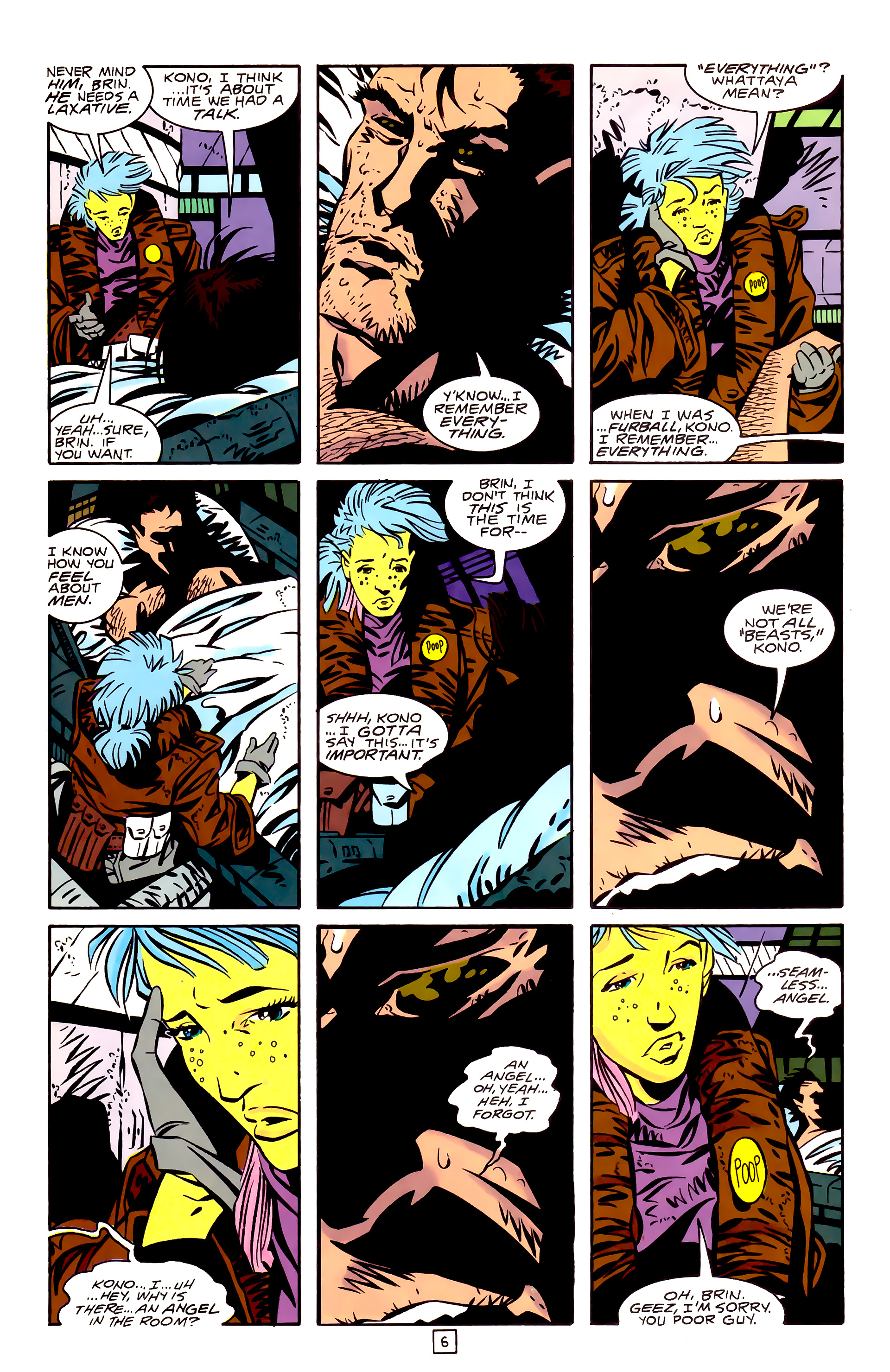 Legion of Super-Heroes (1989) _Annual_3 Page 6