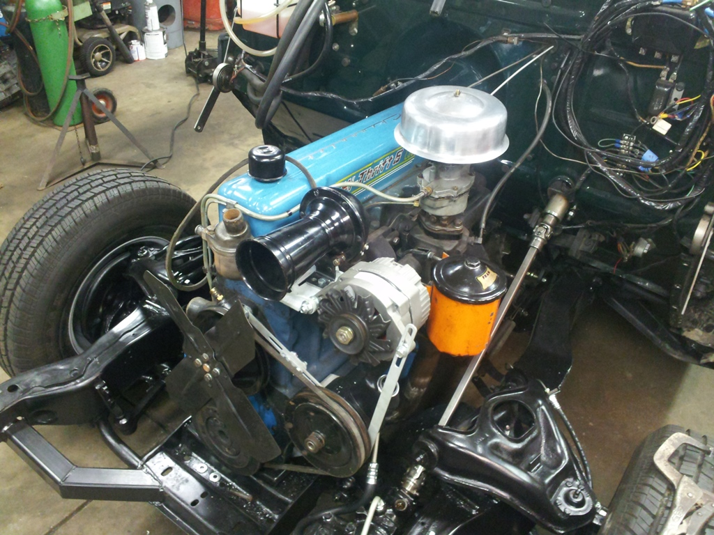 All Chevy chevy 216 engine : Vintage Metalworks: Power Steering on a 235...