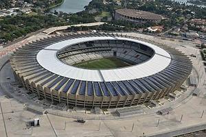 Belo Horizonte  Stadio Mineirão