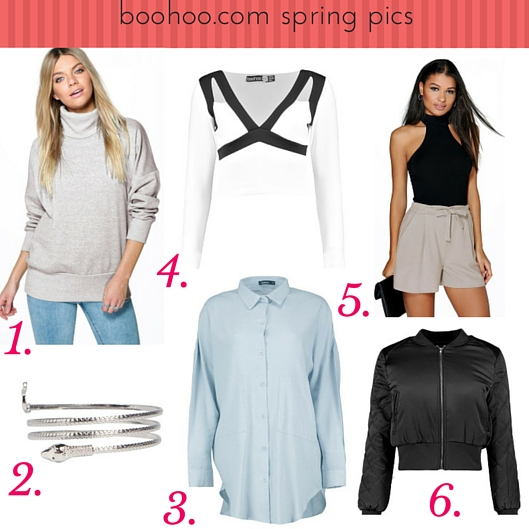 boohoo spring favourites