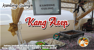 Stall Catering Kambing Guling