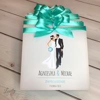 Zaproszenia ślubne Amelia - Olsztyn