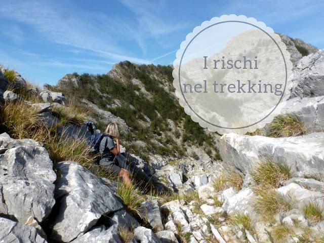 I rischi del trekking: panorama sul Monte Altissimo