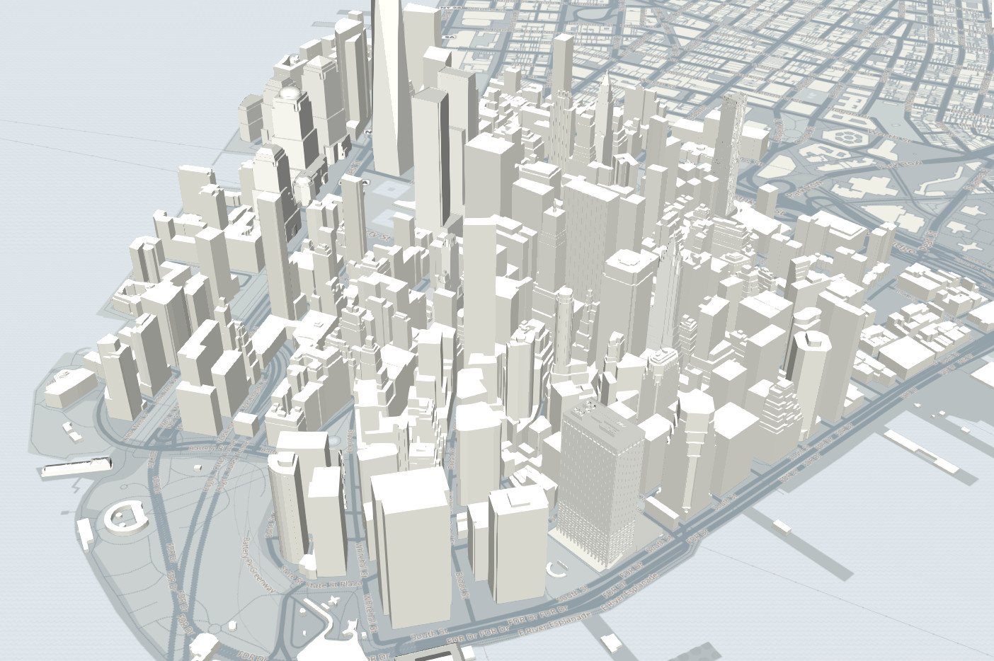 Manhattan in 3D