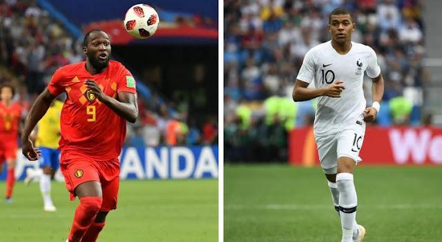 França e Bélgica fazem hoje duelo técnico e tático em São Petersburgo