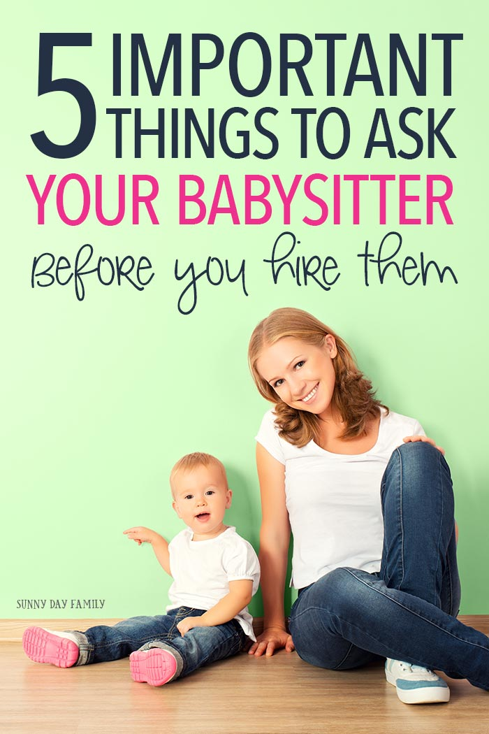 5 Important Skin Care Tips For Girls: 5 Important Things Every Parent Should Ask A Babysitter