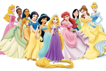 Dibujos Princesas Disney En Color
