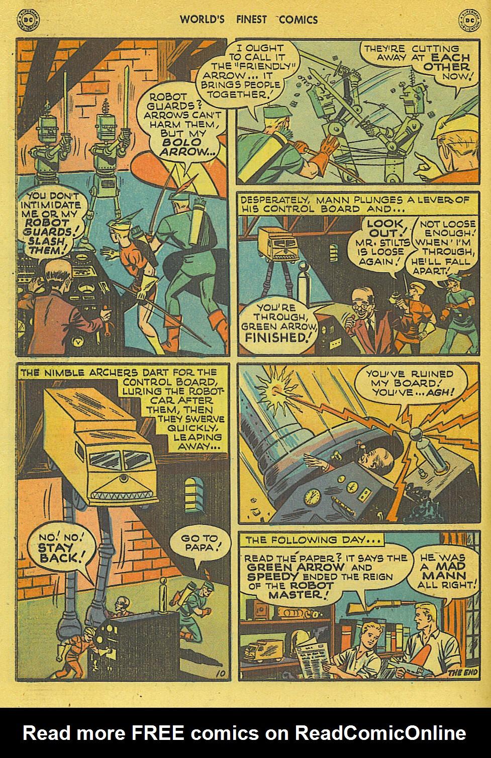 Read online World's Finest Comics comic -  Issue #34 - 50