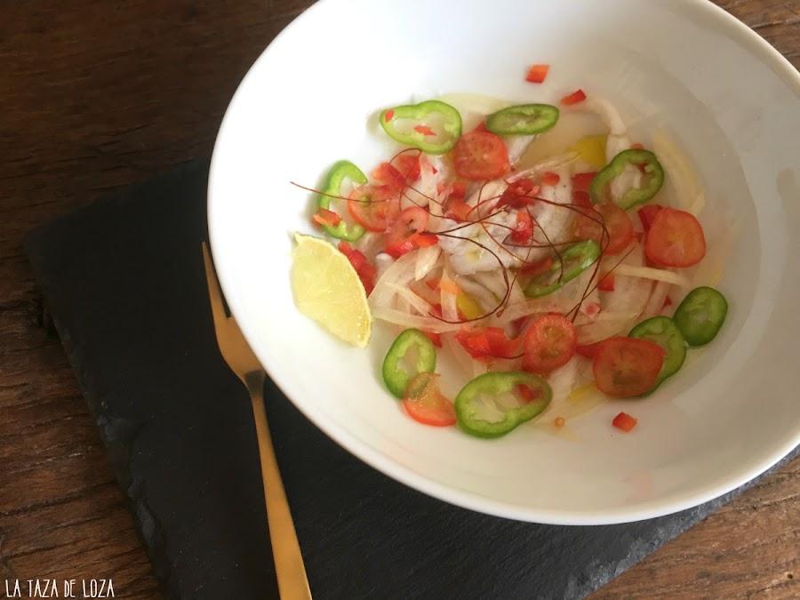 plato-de-cebiche-de-lenguado-con-receta-de-Nobu-Matsuhisa