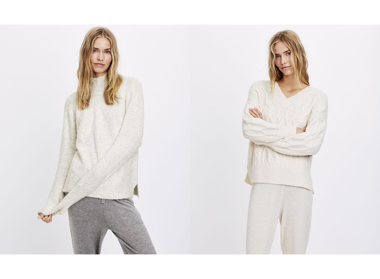 Wełniany sweter Oysho