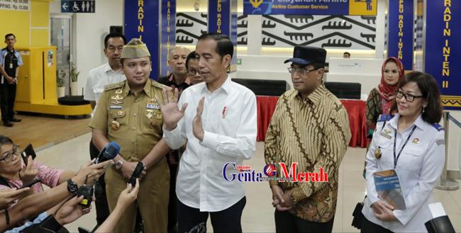 Sambut Kedatangan Presiden RI, Gubernur Lampung Pastikan Bandara GS Waykanan Segera Beroparasi