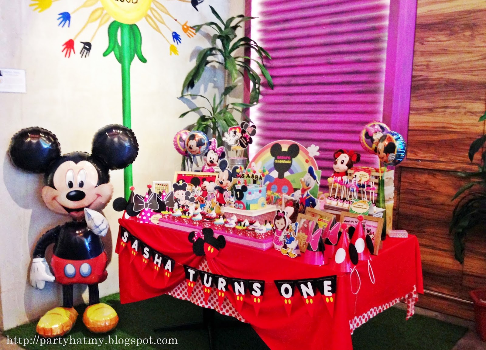 Party Hat Mickey Mouse Clubhouse Birthday Party For Sasha
