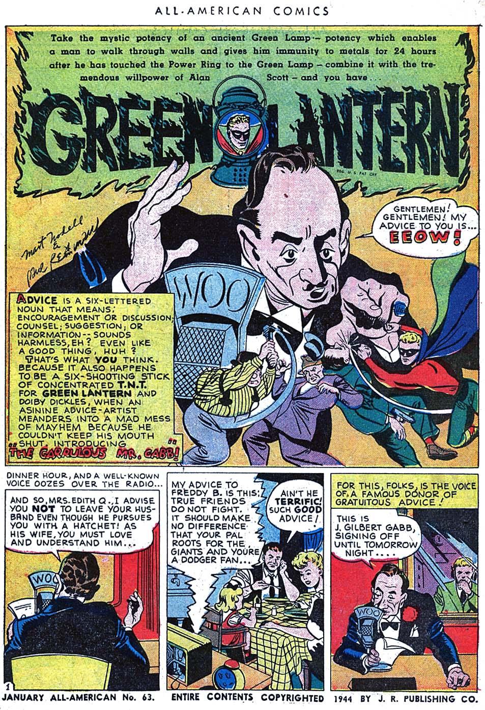 Read online All-American Comics (1939) comic -  Issue #63 - 3