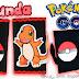 Funda para móvil Charmander técnica de cartonage | Pokemon GO