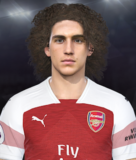 PES 2018 Faces Mattéo Guendouzi by Prince Hamiz