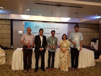 Bayer Scrabble 2017 winners