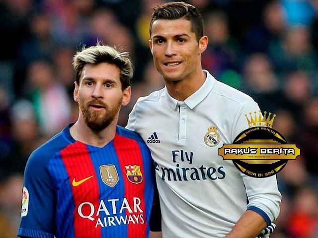 60% Ronaldo Lebih Tajam Daripada Messi Di Liga Champions