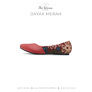 DAYAK MERAH THE WARNA