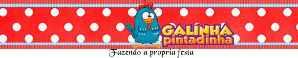 Etiquetas de Gallinita Pintadita en Rojo y Celeste para imprimir gratis.