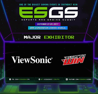 ViewSonic to Showcase XG Series of gaming monitor at ESGS 2017