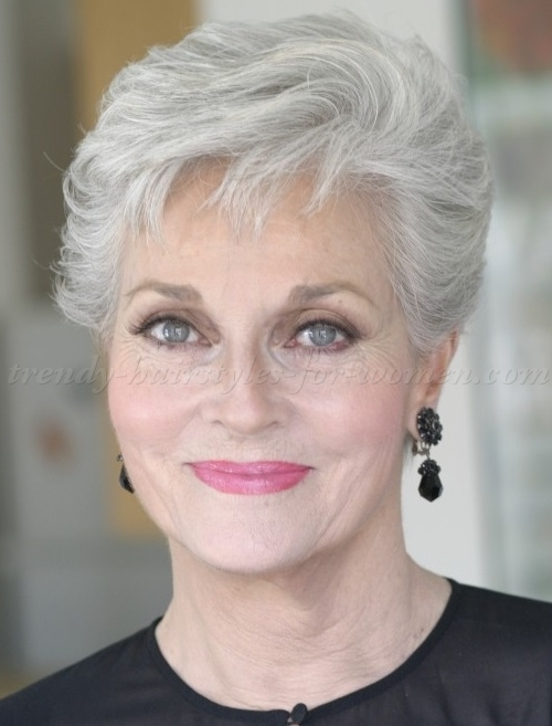 Short Hairstyles for Women Over 60 as the Amazing Style